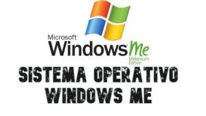 Sistema Operativo windows Me