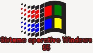 Sistema operativo Windows 95