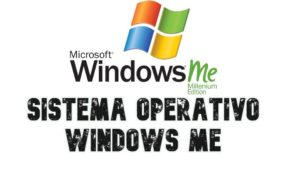 Sistema Operativo windows Me